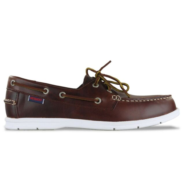 Nunn Bush Bayside Lites Two Eye Boat Shoes $80 NEW in Navy Leather