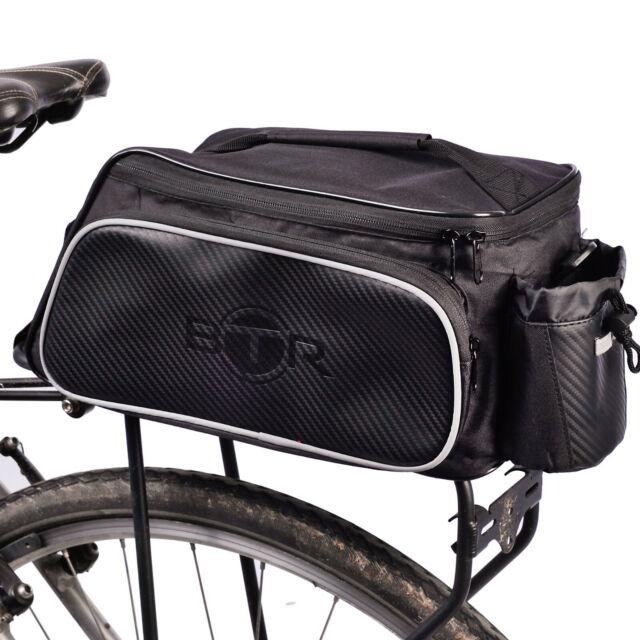 d65ecdf90e4 BTR Rear Bicycle Rack Bike Bag 10l - Water Resistant Storage Pannier ...