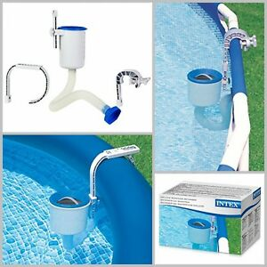 Details about Intex Deluxe Wall Mount Surface Skimmer Swimming Pool  Accessories Cleaning Tools