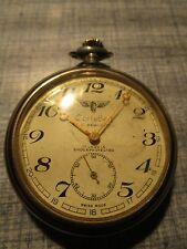 Cortebert Swiss Pocket Watch T.C.D. Demiryolu Railway 17 Jewels
