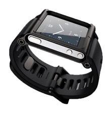 Multi-Touch Lunatik Watch Band Wrist Strap Bracelet For iPod Nano 6 6th Black