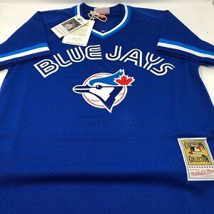 New-Roberto-Alomar-Toronto-Blue-Jays-Batting-Practise-Mitchell-amp-Ness-Jersey-XL