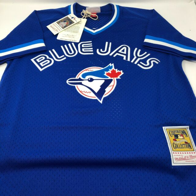 New Roberto Alomar Toronto Blue Jays Batting Practise Mitchell & Ness Jersey XL