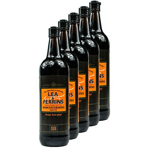 5x-Lea-amp-Perrins-original-Worcestershire-Sauce-568-ML-Worcester-Worcester-sauce