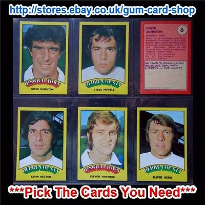 A/&BC 1971 PURPLE BACK 1ST SERIES *PICK THE CARDS YOU NEED* GOOD 55 TO 109