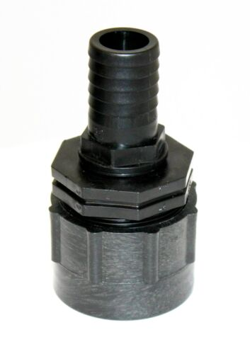 20mm 19mm Heavy Duty Adapter IBC to hose tail 13mm 32mm 38mm /& 25mm