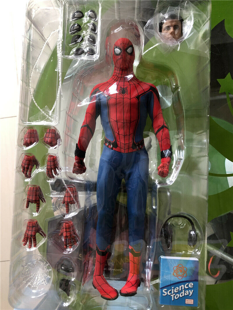 Spider-Man  Homecoming Action Figure Collection Deluxe Ver. Toy a Great Gift Hot