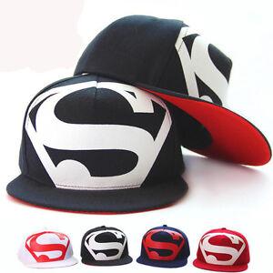 9504b26ca94 Details about Fashion Men s Women Unisex Snapback adjustable Baseball Cap  Hip Hop hat Superman