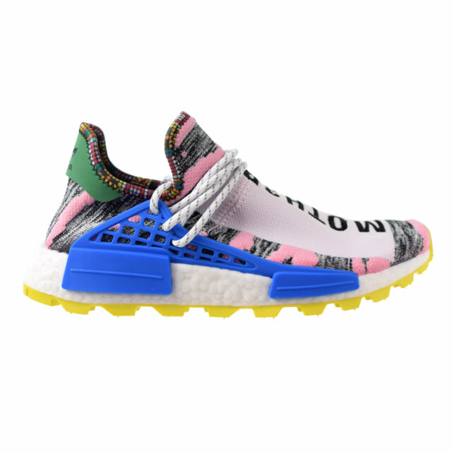 Adidas NMD PW Human Race 'Solar Pack' Men's Shoes Light Pink Core Black BB9531