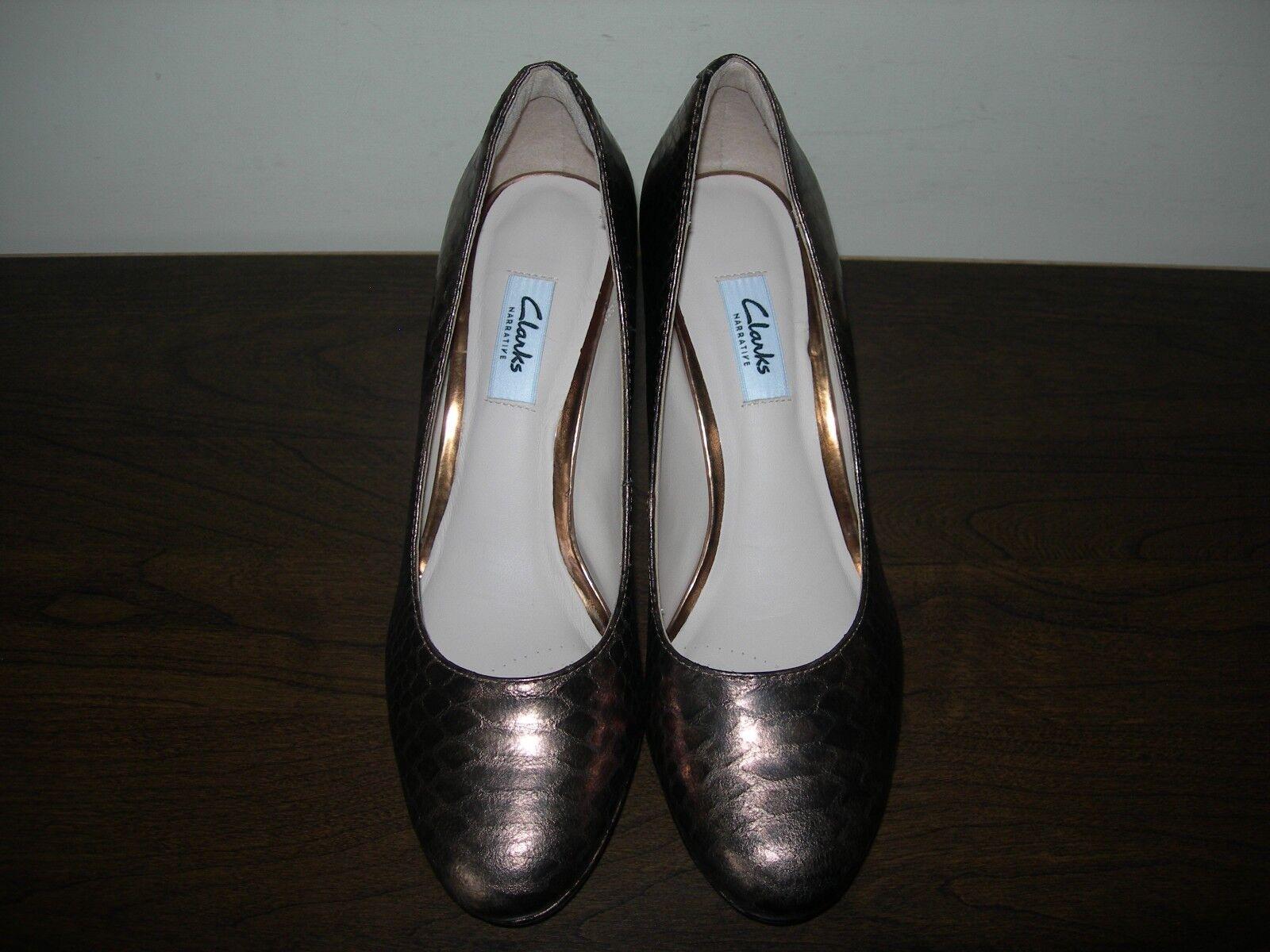CLARKS NARRATIVE WOMEN'S COURT Schuhe BRONZE KENDRA SIENNA (I) 39 EU 39 (I) / UK 5.5 D 14bb8d