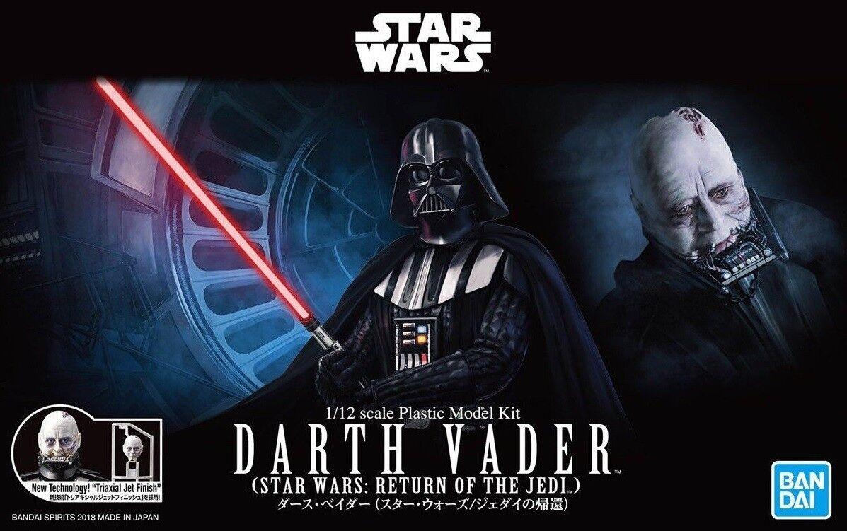 Bandai 1 12 Scale Model Kit Star Wars Return of the Jedi Anakin Darth Vader