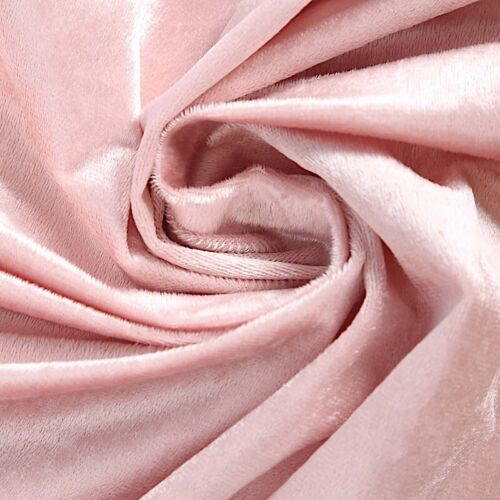 "BLUSH 90/""x132/"" Premium Velvet Rectangular Tablecloth Wedding Event Party Linens"