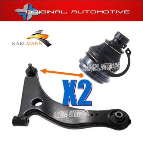 Pour mitsubishi grandis 2.0 did 2.4 03-09 front lower wishbone bras balljoints 2PC