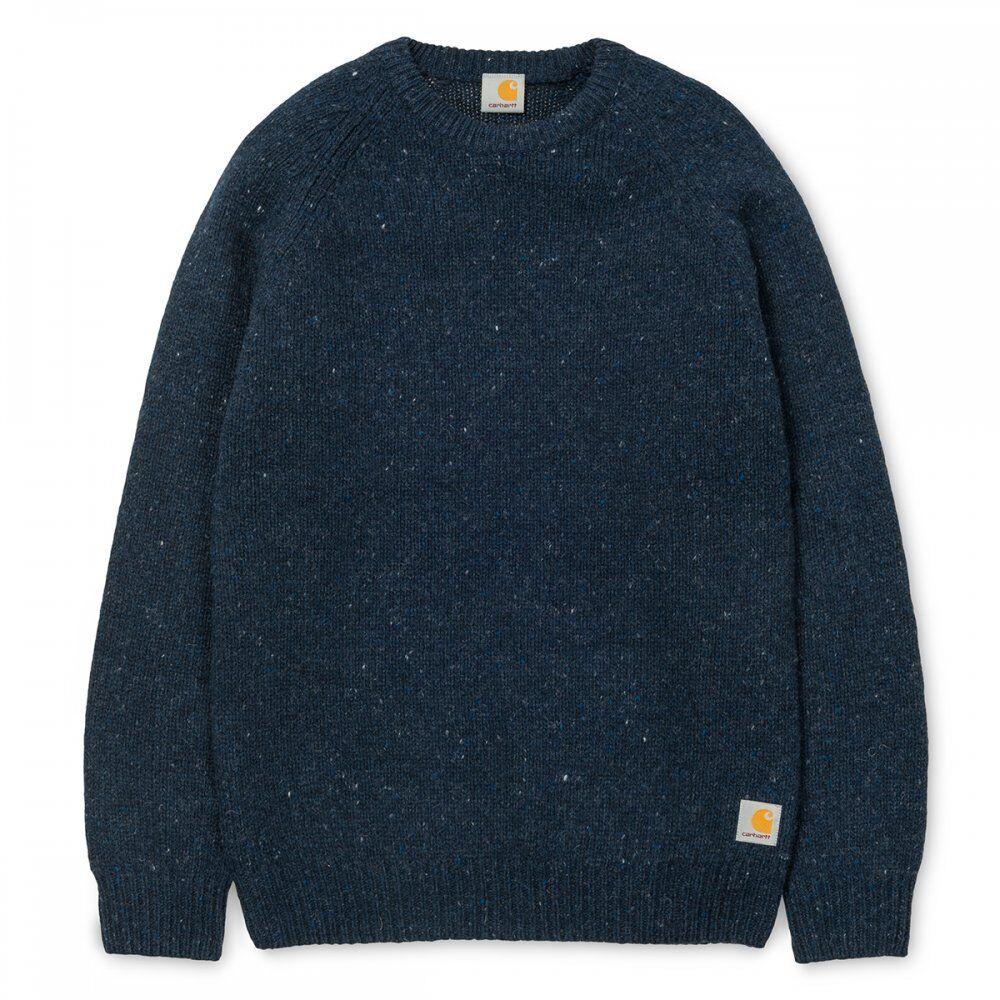 Neu Carhartt Anglistic Sweater Herren Pullover navy small S | Deutschland Berlin