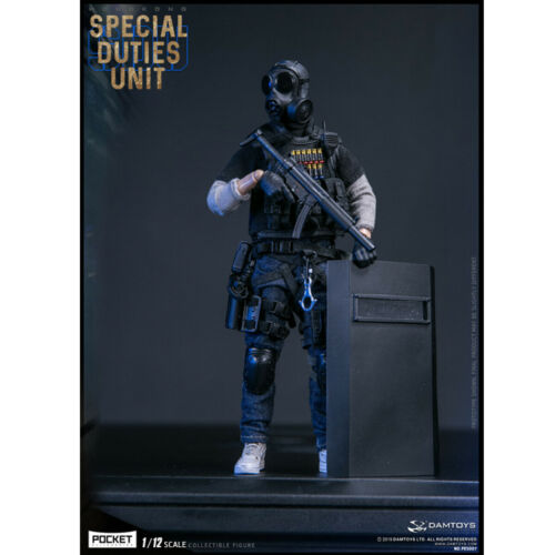 DAMTOYS 1//12 PES007 Hong Kong SDU Special Duties Unit FAI Sir Action Figure New
