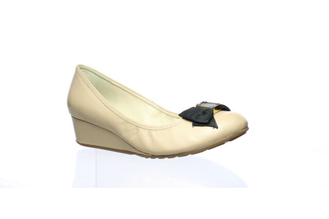 Cole Haan Womens Tali Grand Ch Nude Leather Ankle Strap