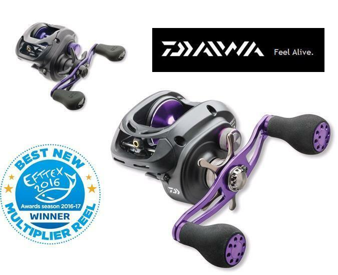DAIWA PROREX  - Low Profile Baitcast Reel - 100HSLA   200HLA   300HLA  300 HA