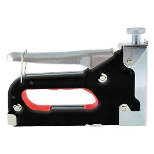 Grapadora Manual Metalica de 4-14mm con 50 Grapas Gratis de Mano Tapizar