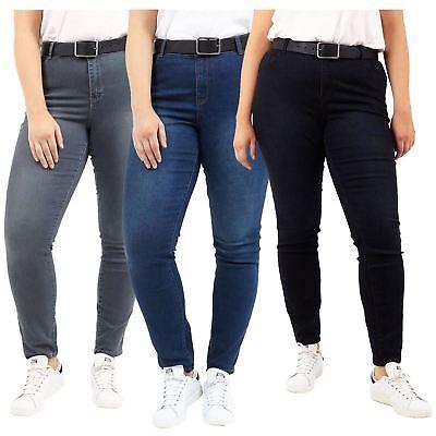 Treu New Womens Plus Brave Soul Alice Faded Skinny Stretchy Denim Jeans Pants RegelmäßIges TeegeträNk Verbessert Ihre Gesundheit