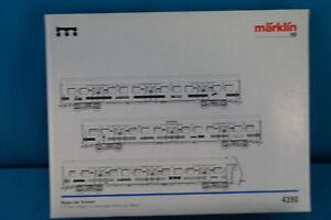 Marklin-4390-DBS-Bahn-Coach-Set-034-Marklin-034-Alpha-Hobby-Digital