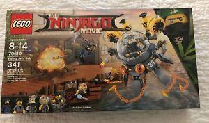 Flying Jelly Sub Brand New in Sealed Box The NINJAGO Movie LEGO 70610