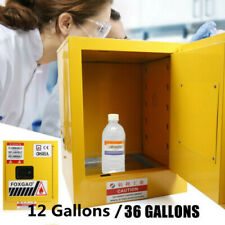 12 36 Gallons Safety Liquid Locker Fireproof Leakproof Storage Cabinet 1 Door