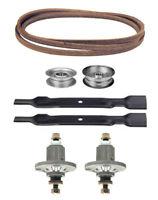John Deere 100 Series 42 Mower Deck Parts Kit Spindles Blades Free Shipping