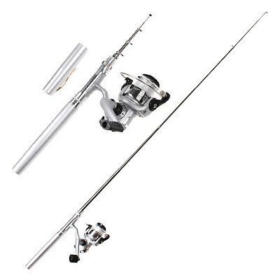 Fishing Tackle Pocket Rod Reel Kit Polel Combos Set-2018 New Mini Fish Tackle