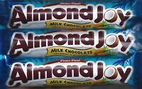 Peter Paul Almond Joy Milk Chocolate, Coconut & Almonds 1.61 Oz (45g) Bars
