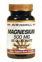 Windmill Magnesium 500 Mg Tablets 90ct
