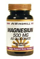 Windmill Magnesium 500 Mg Tablets 90ct