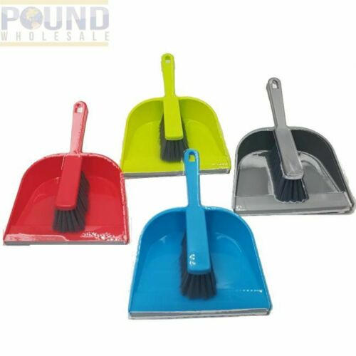 Dustpan and Brush Set Home Cleaning  Light Weight Color & Style May Vary 4 Color