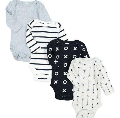 Modern Baby Assortiti Confezione Da Quattro Tutti In Quelle Dimensioni Neonato Rrp £ 44-
