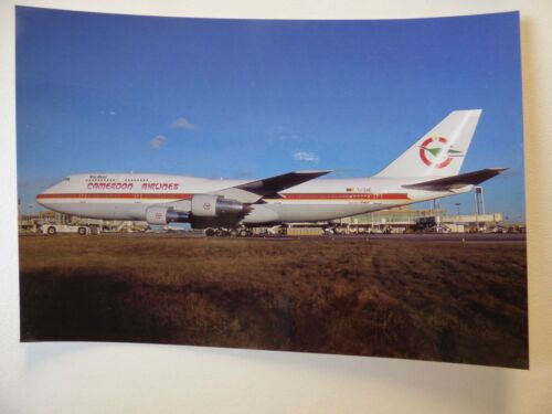 CAMEROON AIRLINES   B 747 312   TJ-CAE collection vilain N ° 403