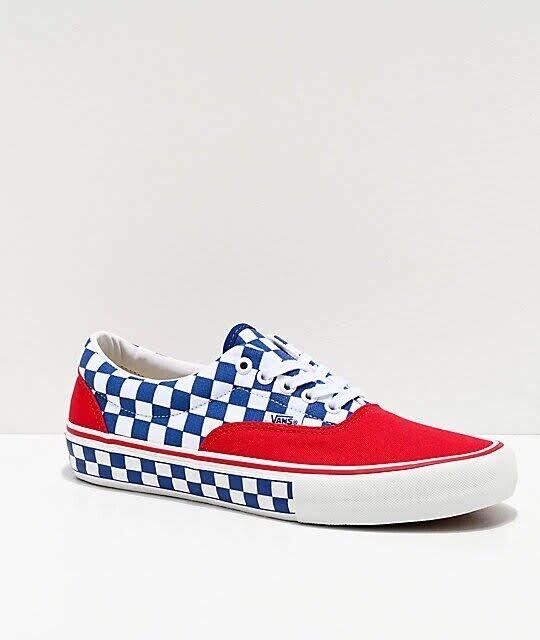 VANS Era Pro Red Blue White