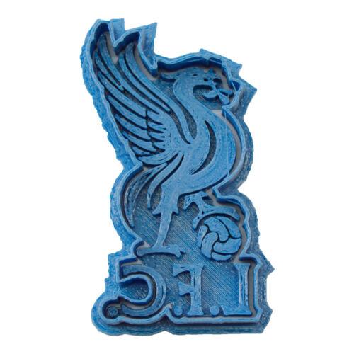Cuticuter Liverpool FC Cookie Cutter Cortador de Galletas Equipo Fútbol