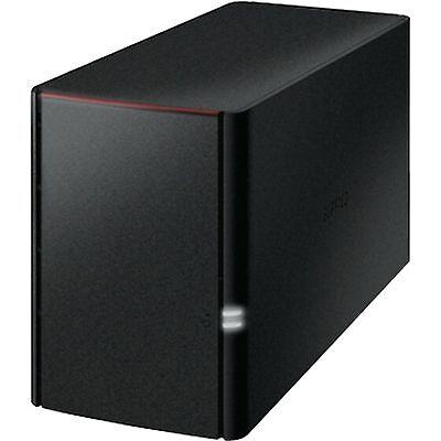 Buffalo Technology LinkStation 220DE, NAS, schwarz