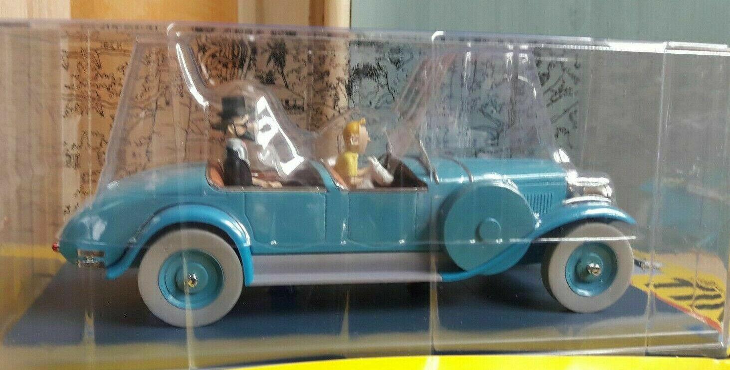 Coche Tintin Torpédo Docteur Finley 1 24 Nuevo En Caja Modelo Diecast