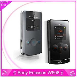 sony ericsson w508 w508i flip mobile phones 2 2 inch screen 3 2mp rh ebay com User Manual PDF Instruction Manual Book