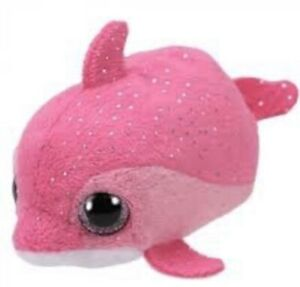 Ty Beanie Babies 42314 Teeny Tys Floater the Pink Dolphin