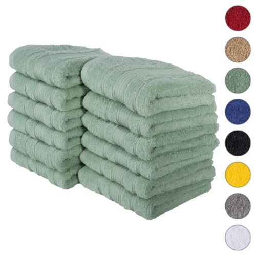 NEW TEAL GREEN Color ULTRA SUPER SOFT LUXURY PURE TURKISH 100% COTTON HAND TOWEL