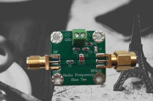 Bias Tee Wideband 1MHz-3GHz for HAM radio RTL SDR LNA Amplifier 50VDC L49 2