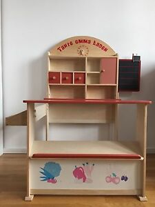 roba kaufladen verkaufsstand kaufmannsladen tante emma laden ebay. Black Bedroom Furniture Sets. Home Design Ideas