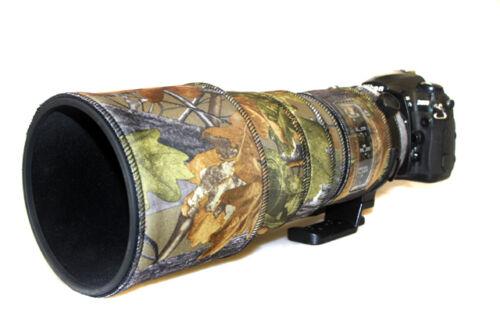 Nikon 300mm f2.8 AF-S Lente de Neopreno no VR Protección Camuflaje Cubierta De Roble mk1