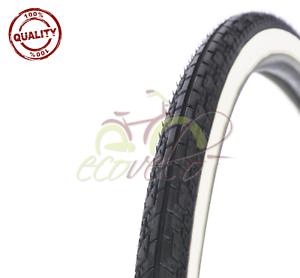Slick City Bike Bicycle Bike 44-559 1 Tire Black 26 x 1.75