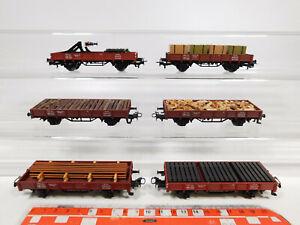 Cm934-1-6x-Marklin-h0-ac-baja-bordo-carro-kklm-505-323-1-791-DB-con-descarga