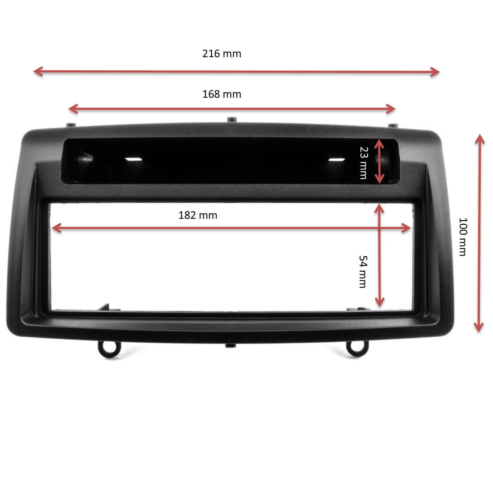 Radioblende Set Toyota Corolla E12 2003-2007 Autoradio Blende Adapter