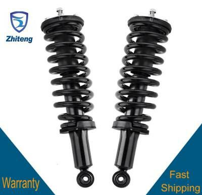 Pair Front Quick Complete Struts /& Coil Spring Assemblies Compatible with 2000-2006 Toyota Tundra