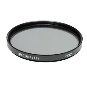 Promaster Neutral Density 2X Filter - 58mm