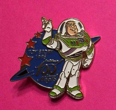 Buzz Lightyear 100 Years of Magic Disney Pin, 3-D with Movement LE4000